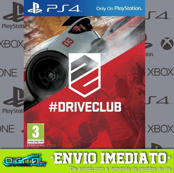 Drive Club Ps4 Psn Jogo Digital Envio 10 Min Original