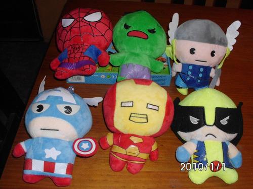 Muñecos Peluche Avengers.