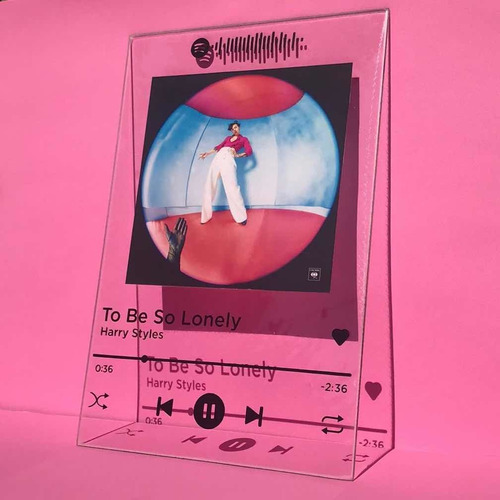 Placa Spotify Personalizada Vidrio