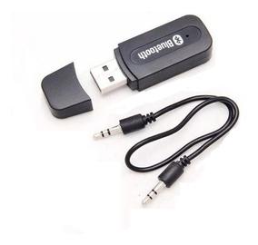 Receptor Bluetooth Usb Saida Auxiliar P2 Carro Som Frete 10