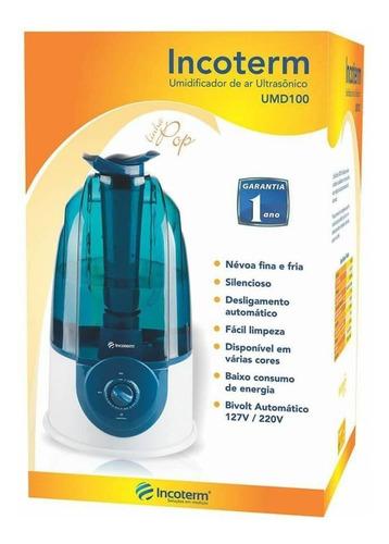 Incoterm Aparelho Umidificador Azul 3 L