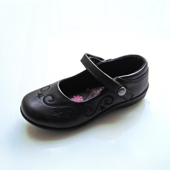 Zapato Colegial Escolar Casual Floricienta Niña 26-38 Md4002