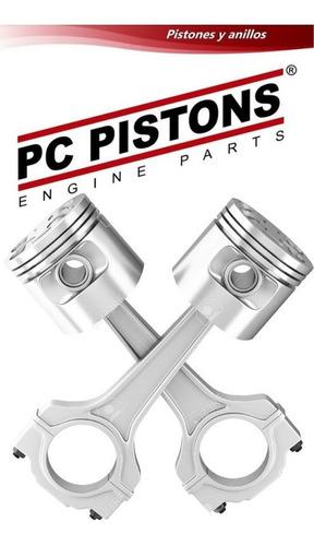 Pistones Ford Fiesta 1.6 96-04 Con Anillos 030 0.75