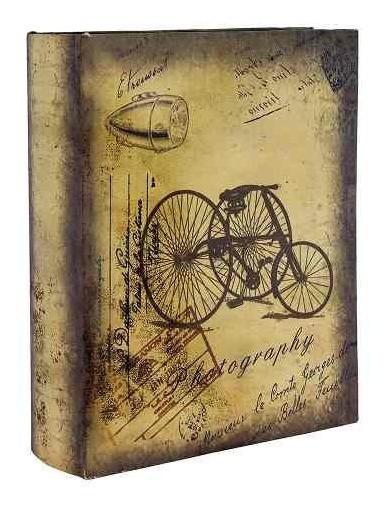 Álbum De Fotos Triciclo Retrô Oldway - 200 Fotos 10x15 Cm