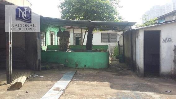 Terreno À Venda, 980 M² Por R$ 2.800.000 - Campestre - Santo André/sp - Te0449