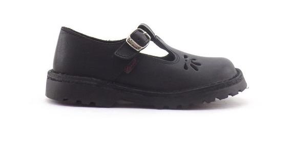 Zapatos Colegial Guillermina Marcel Cuero Calada Nena 34-40