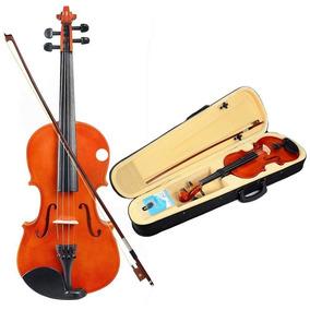 Violino Acústico Natural - Huhu Comprado Nos Eua