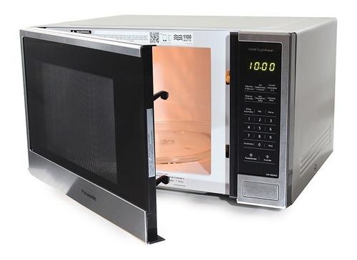 Horno Microondas Panasonic 1.3 Pies Cúbicos 1100 Watts Acero