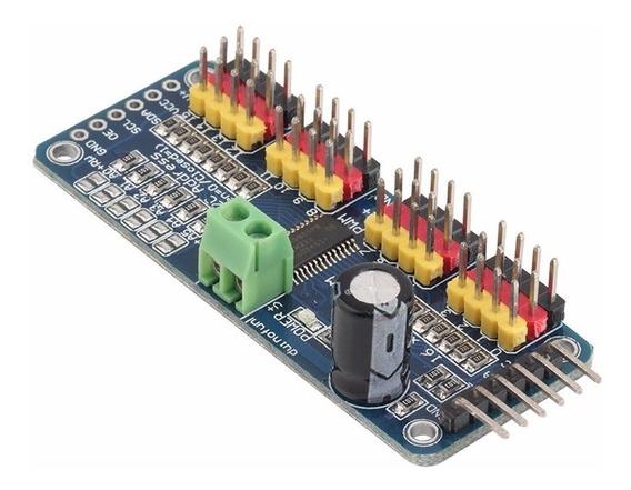 Controlador Servos 16 Canales I2c Pca9685 Pwm Arduino Candy