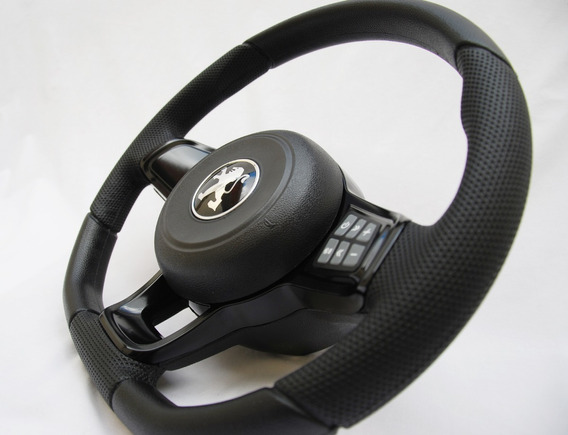 Volante Gti Mk7 Peugeot Comando De Som 106 206 207 306 Preto