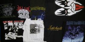 Lote De Camisetas Usadas Rock