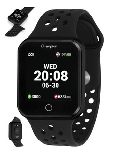 Relógio Smartwatch Champion Smart Fitness Completo Original