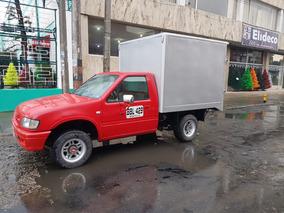 Chevrolet Luv Furgon En Aluminio Bien Cuidado