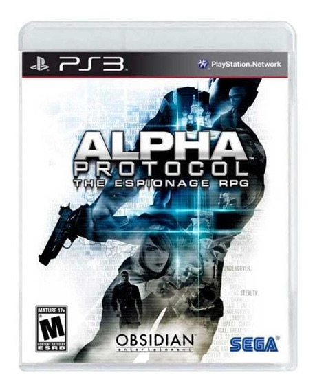 Alpha Protocol The Espionage Rpg Ps3 Mídia Física Lacrado