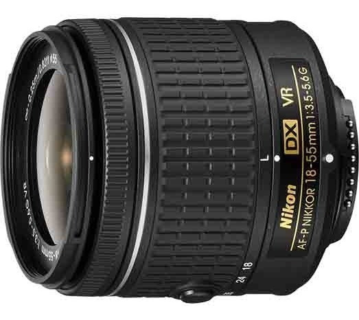 Lente Nikon Af-p Dx 18-55mm F/ 3.5-5.6g Vr Câmeras Compatíveis Série D3300 D3400 D5300 A D5500 D5600 D7200 A D7500.