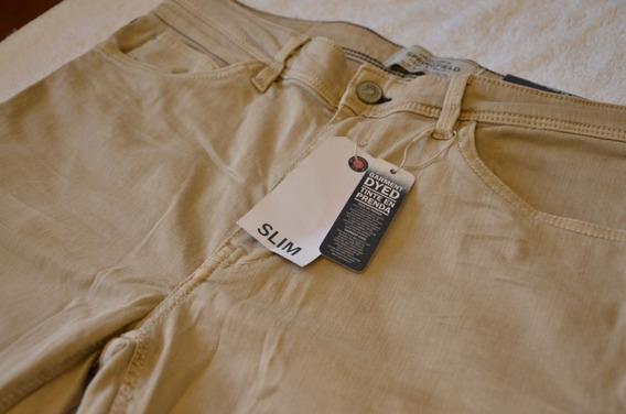 Pantalon Jean Casual Hombre Springfield Zara T30 30 Trmps