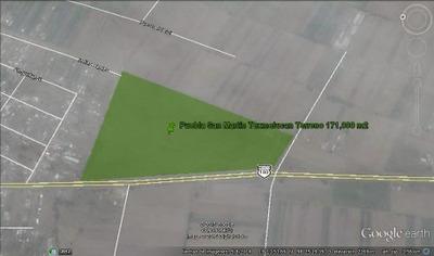 Puebla S. Texmelucan. Terreno 176,000 M2 Amplio Uso De Suelo
