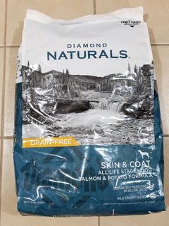 Diamond, Skin & Coat, Salmon Y Potato, Grain-free 30 Lib