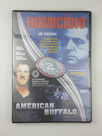 Dvd Homicidio American Buffalo 2 Filmes Lacrado