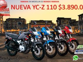 Nueva Yamaha Yc-z 110 Modelo 2019