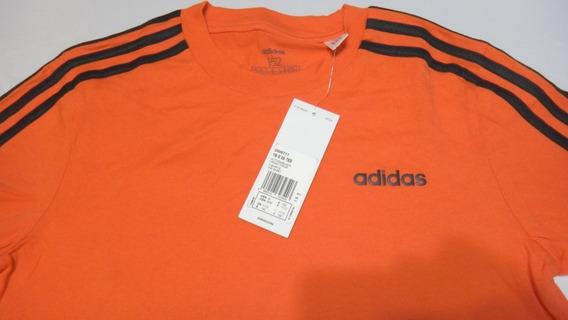 Playera adidas Original Color: Naranja Para Niño