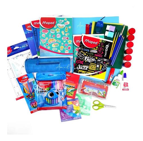 Kit Escolar, Pack, Set De Útiles Escolares