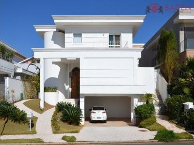 Casa Residencial Em Campinas - Sp, Alphaville Dom Pedro - Ca00496