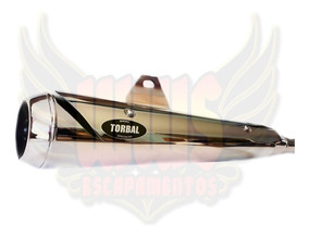 Escape Estralador Torbal Honda Titan Fan 150 Esd 2011 2012