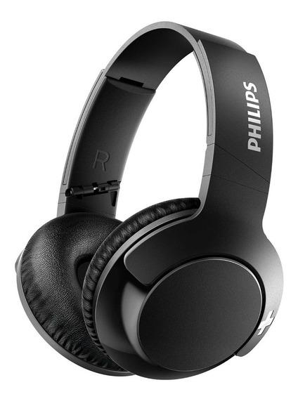 Fone De Ouvido Sem Fio Philips Bass+ Wireless Preto Shb3175
