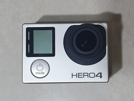 Gopro Hero4 Silver + 2 Baterias Extras + Bastão + Acessórios