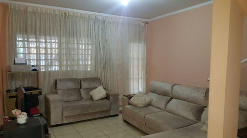 Sobrado Com 3 Dormitórios À Venda, 153 M² Por R$ 380.000,00 - Monte Castelo - São José Dos Campos/sp - So0687