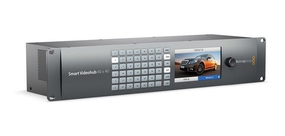 Blackmagic Design Smart Videohub 40 X 40 6gsdi