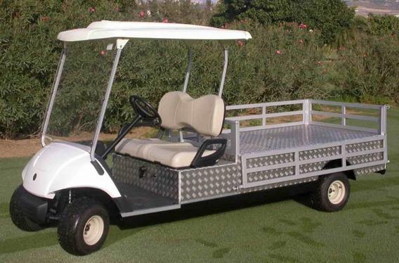 Carritos De Golf Recolector De Basura Elect. Made In Japan