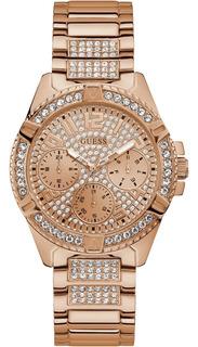 Reloj Guess W1156l3 Lady Frontier Mujer Oro Rosa Original