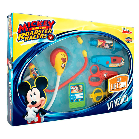 Kit Médico Infantil Mickey Disney