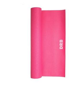 Colchoneta Mat Yoga Drb® 4mm 2.0 Rosa