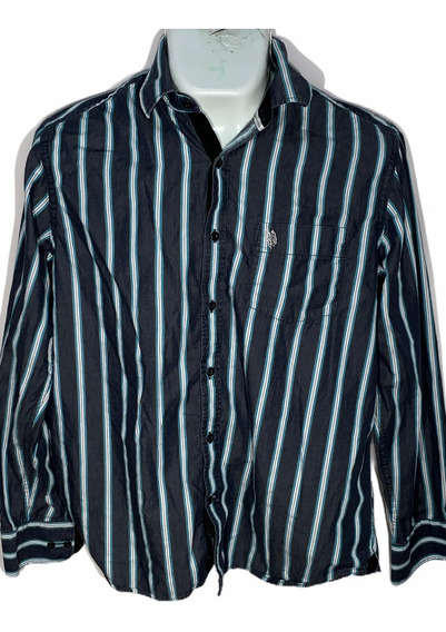 Hg Camisa L U. S. Polo Assn Id D191 Used Hombre Remate!