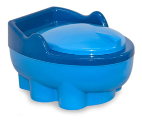 Troninho Infantil / Piniquinho Tartaruga Azul Baby Style
