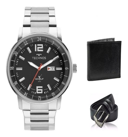 Relógio Technos Masculino Golf 2115mwb/1p Original Lançament