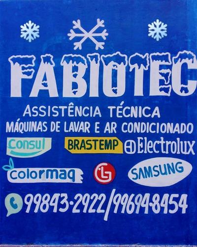 Imagem 1 de 1 de Serviço Em Máquina De Lavar E Ar Condicionado