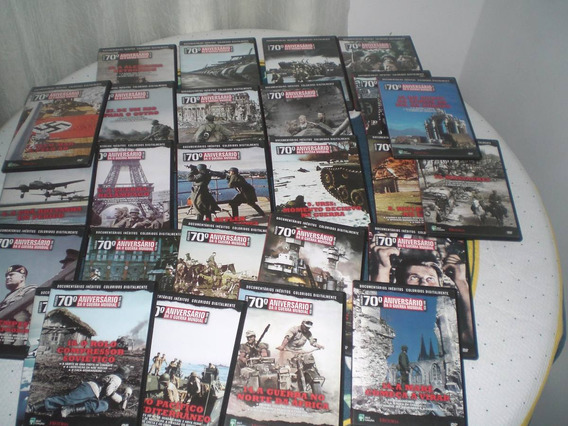 Colecao 70ºaniversário Da 2ª Guerra Mundial(lote Dvd Avulso)