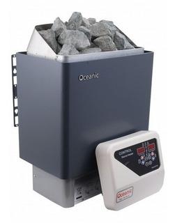 Calentador 9kw Generador Calor Para Cuarto De Sauna Piedras