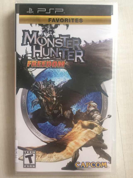 Monster Hunter Freedom Para Psp