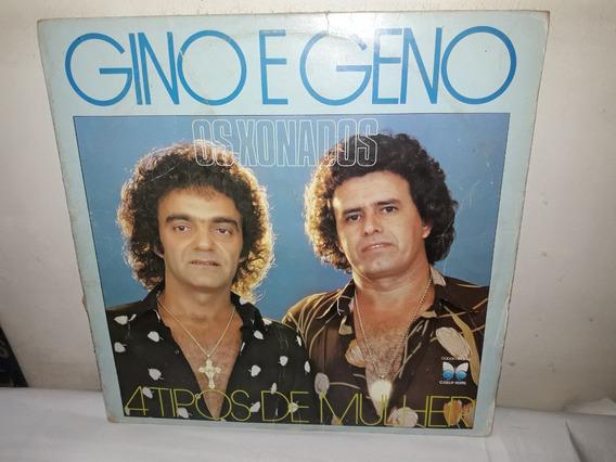 Lp Gino E Geno 1982 4 Tipos De Mulher Novissímo-ne