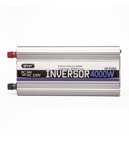Inversor Automotivo Veicular 4000w 24v 110v Ou 220v Knup