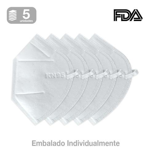 Imagem 1 de 3 de Kit Máscaras N95 Descartáveis Proteção Facial Pff2 Com 4 Cam