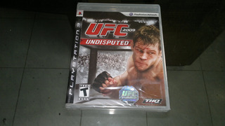Ufc Undisputed 2009 Completo Para Play Station 3,excelente