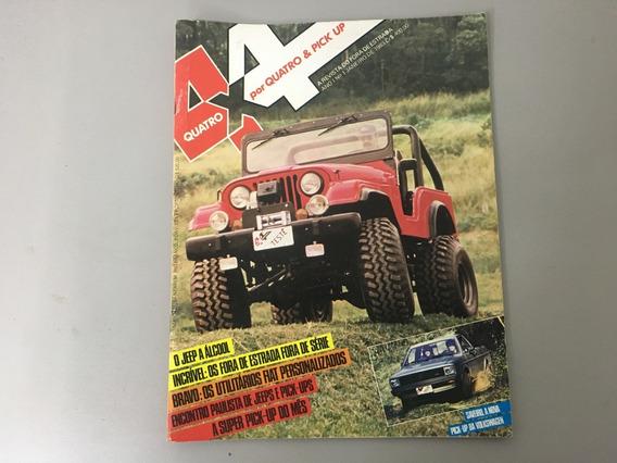 Revista 4x4 & Pick-up N.o 01 - 1983