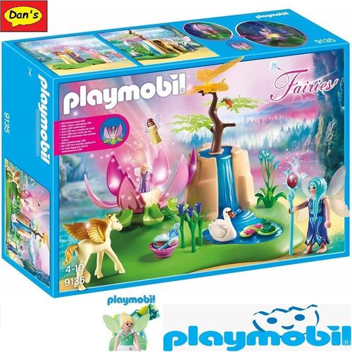 Imagen 1 de 3 de Playmobil 9135 - Lago Con Hadas Bebé