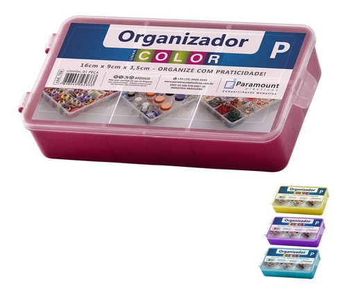 Caja Organizadora Paramount Mediano 23x14x4cm G P